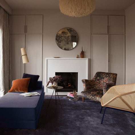 San Francisco Residence, Sitting Room with Goddard Armchair by Pinch