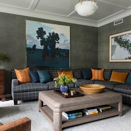 Pacific Palisades - Living Room