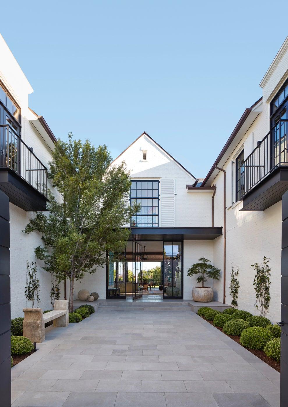 Entry Courtyard/Front door
