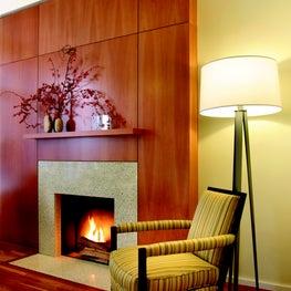 Gleicher Eco-Friendly Townhouse Fireplace