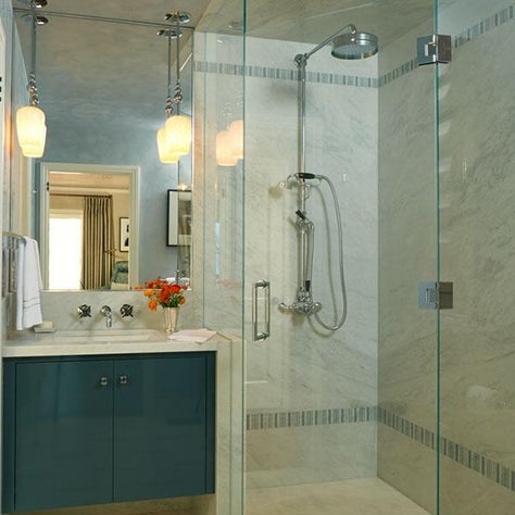 The Office Bathroom | Pasadena Showcase House of Design