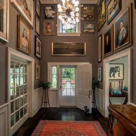 Foyer Gallery in Delaware Home