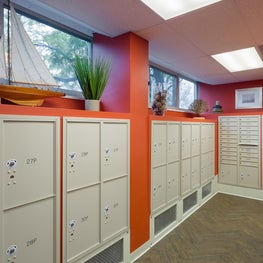 Mail Room for Multi-Family High Rise Remodel