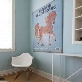 LBJ's Mother's Childhood Home - Kid's Room Design Detail