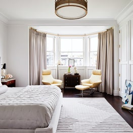 A Historic Boston Back Bay Brownstone Luxury Master Bedroom