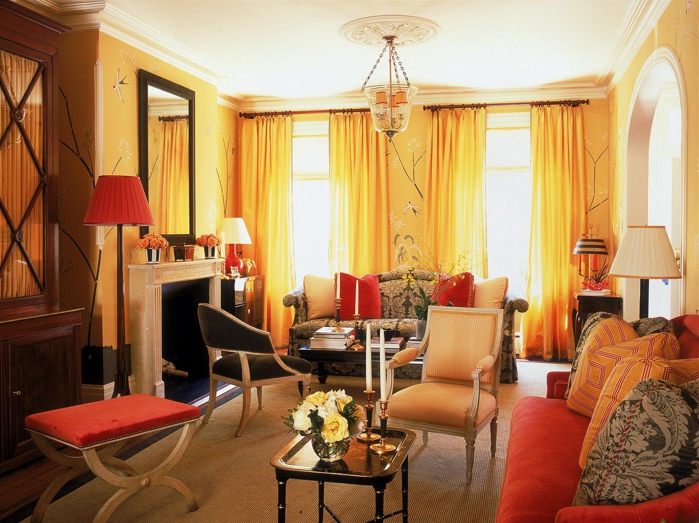 Georgetown Townhuse Living Room