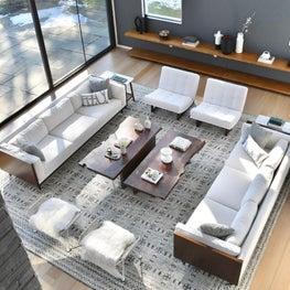 Rye, New York Living Room