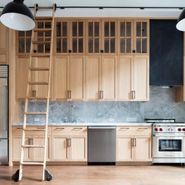 West 4th Street Residence. Open Kitchen with gorgeous cabinetry.