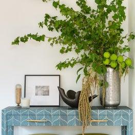 Golden Gate Heights Residence: Living Room, Console Vignette