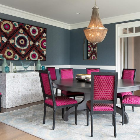 Eclectic Formal Dining Room