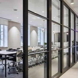Board Room in stylish London office