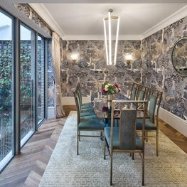 Fantastical and Unexpected Dining Room
