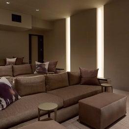 Media Room - Bel Air Estate