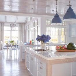 Kitchen with Cerused Oak Details