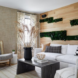 Boutique Hotel Lounge Area in neutrals