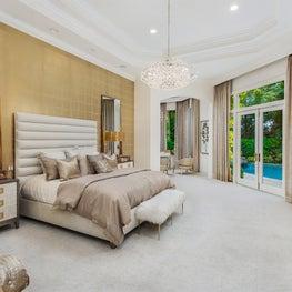 Palm Beach Tropical Paradise Bedroom