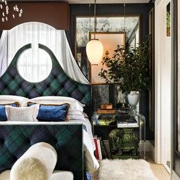 Kips Bay Palm Beach bedroom designed by Robin Gannon Interiors