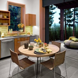 Martis Camp Residence Breakfast Area