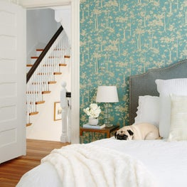 Wallpaper Lover's Master Bedroom