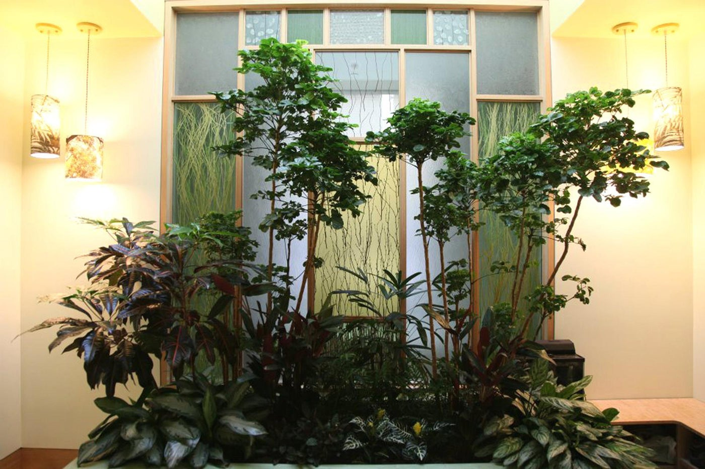 Private Bathroom Oasis (view from Foyer)
