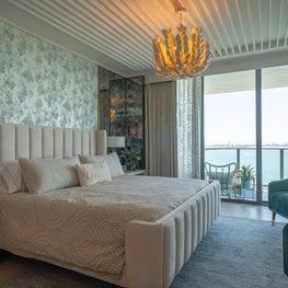 Master bedroom overlooking the ocean