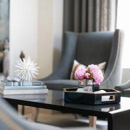Formal Living Room Detail Shot