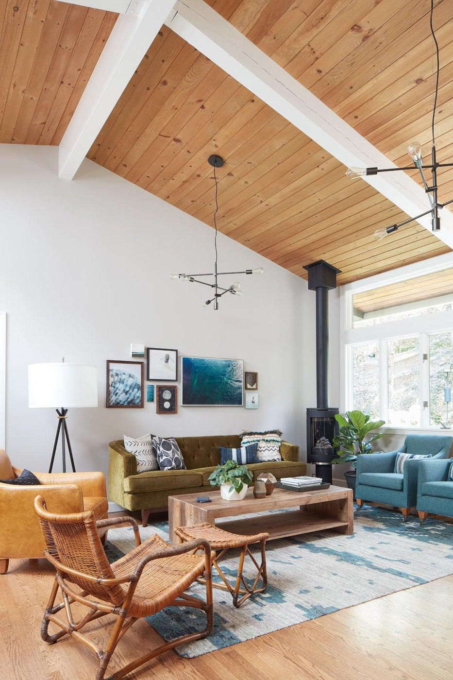 Cozy Family Room Space