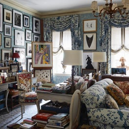 A study and sitting room in New York City