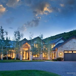 Contemporary luxury estate, Aspen Colorado