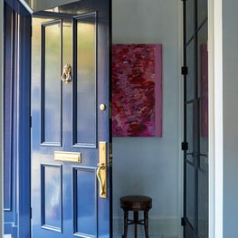 Entry to a Contemporary Townhouse