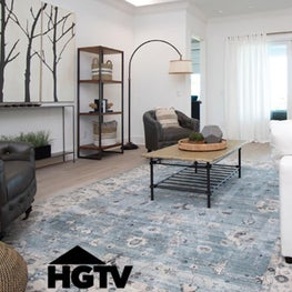 Seen on HGTV this waterfront home provides an organic and modern style