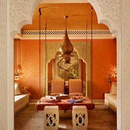 Qatar private villa - Moroccan Room