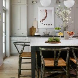 Basement kitchen/living area