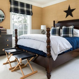 A classic boys bedroom