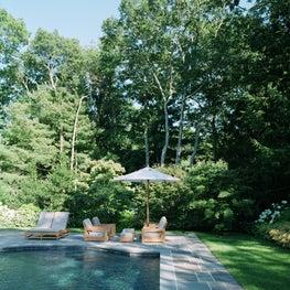 East Hampton Residence - Pool Terrace