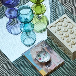 Moroccan Tea Glass Vignette