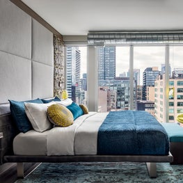 Toronto Penthouse Master Bedroom