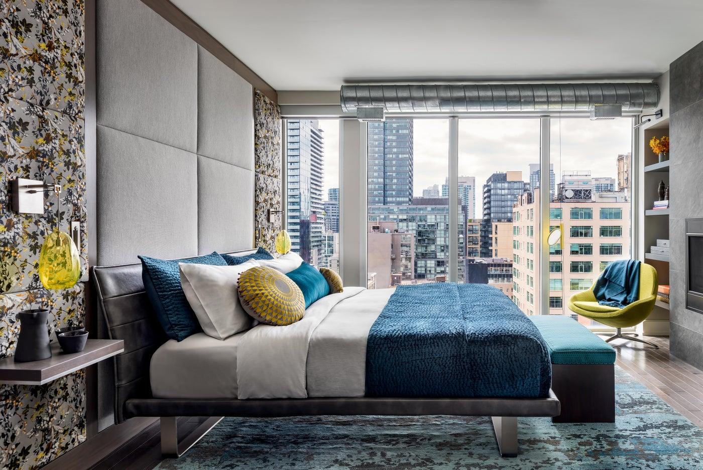 Toronto Penthouse Master Bedroom