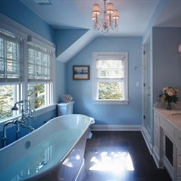 Traditional/Transitional Bathroom - Munsey Park, NY