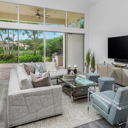 Mirasol Golf Course Estate Family Room