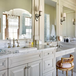 Refined Desert Haven Master Bathroom
