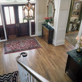 Traditional foyer/stair hall