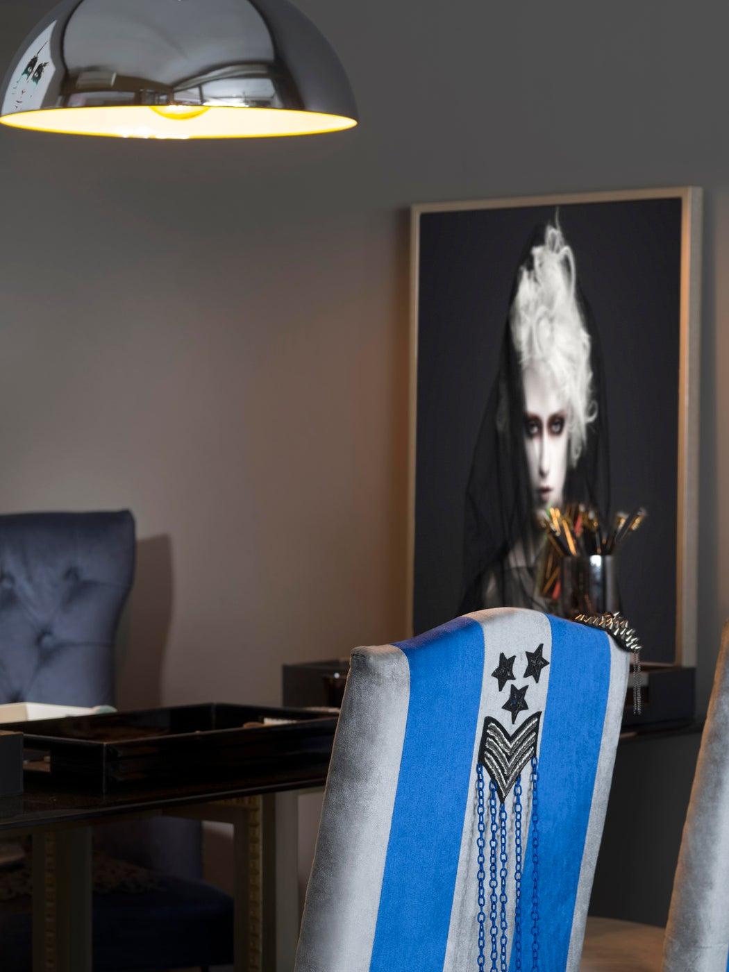 Eclectic Office / Design Studio / Bespoke Upholstery
