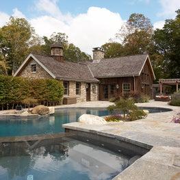 Modern/Rust Barn Pool House