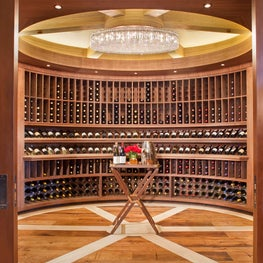 Star Mesa Wine Cellar by Charles Cunniffe Architects