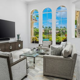 Mirasol Golf Course Estate Living Room