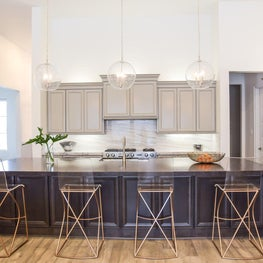 Modern, clean and spacious family kitchen