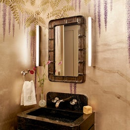 Powder Room - Downtown Triplex Apartment