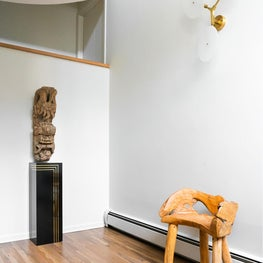 Simple intro to a clients home full of unexpected art and collectibles