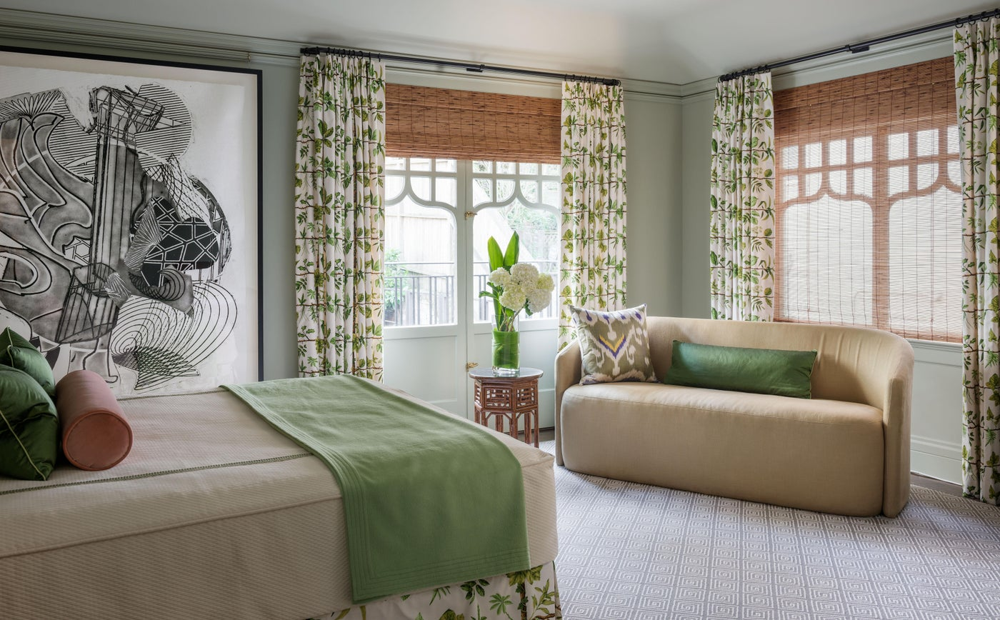 Guest Bedroom of a Pacific Heights Residence